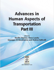 EDITION Advances in Human Aspects of Transportation
